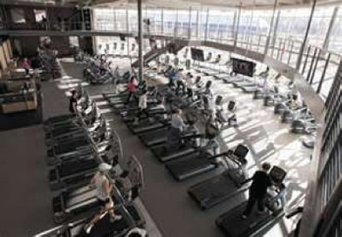 The BlueDuct® - Sanford YMCA, Fargo, ND