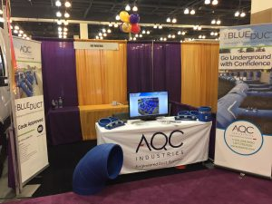 AQC Industries IHACI Booth