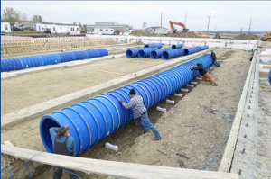 how quick easy to install blueduct aqc underground duct