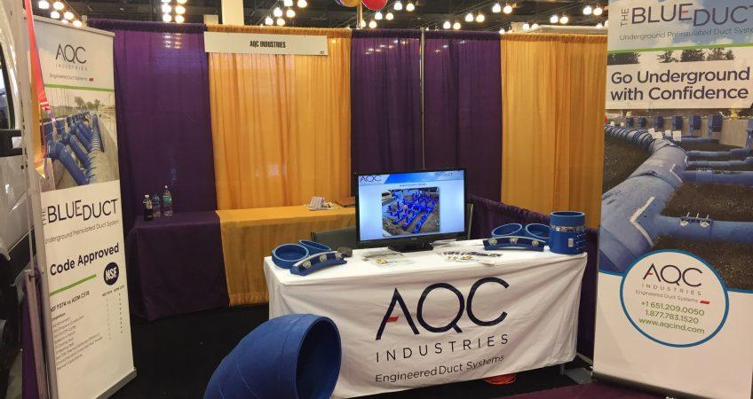 AQC Industries IHACI Booth